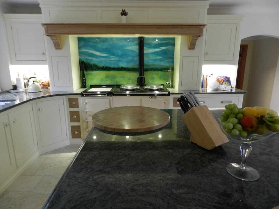Bespoke Landscape splashback commission