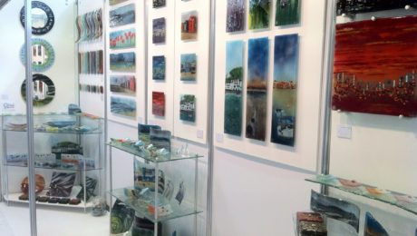 Morpheus Glass Fused Glass - BCTF 2012