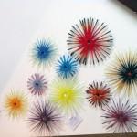 Morpheus Glass Fused Glass Display - Flowers