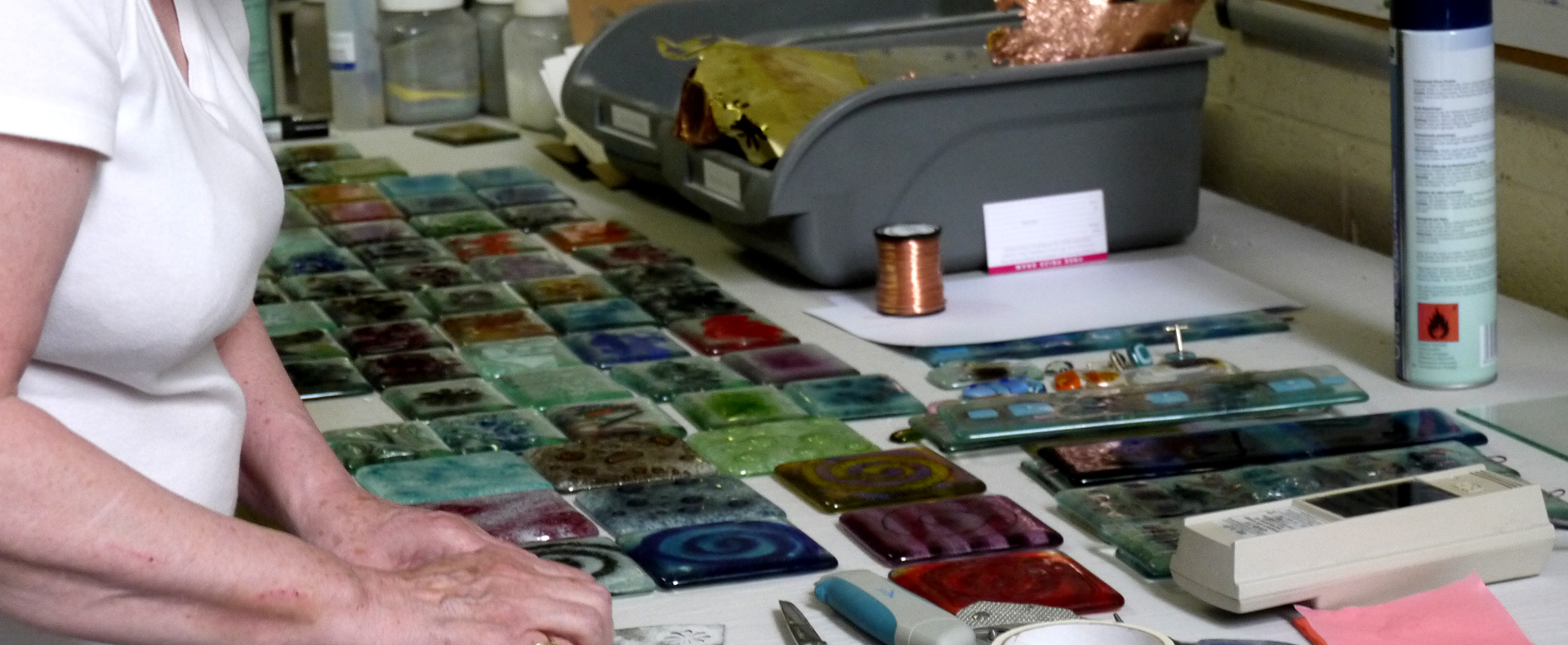 Morpheus Glass fused glass course