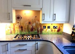 Golden Medow splashback